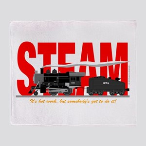 Steam Logo Throw Blanket